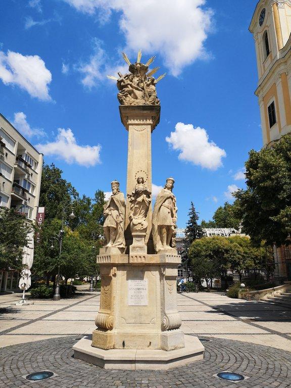 Zalaegerszeg Szentháromság szobor