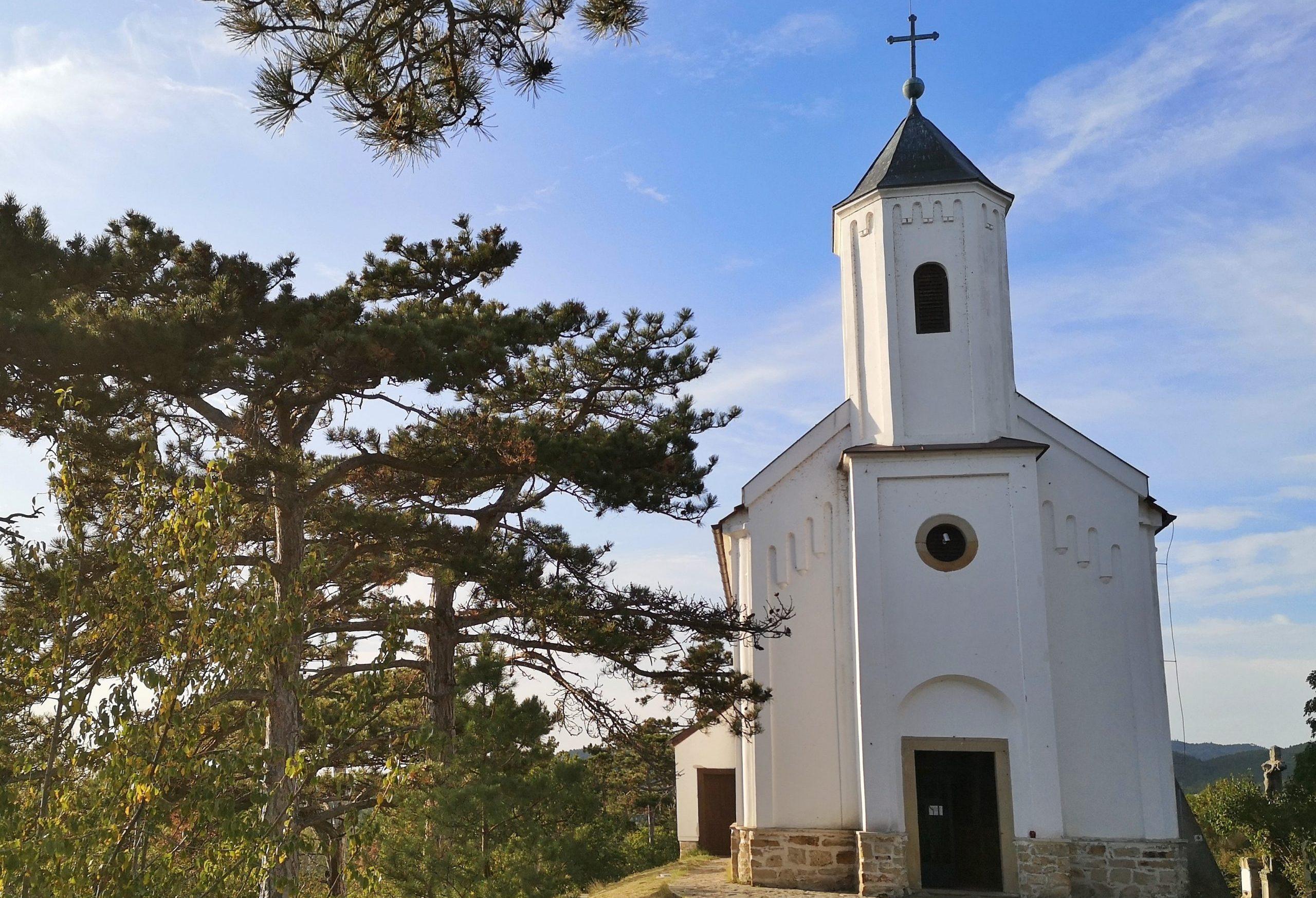 Szent Mihály dombi halász kápolna Gyenesdiáson
